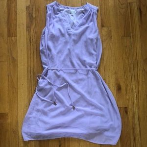 Lilac Charming Charlie's V-Neck Dress